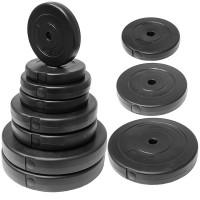 Диск пластиковый/цемент чёрный 10 кг D - 26 мм