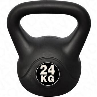Гиря 24 кг (цемент, покрытие-винил) HKDB6168 АКЦИЯ