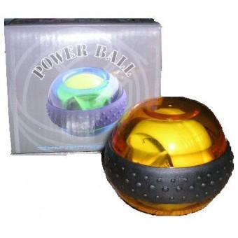 Тренажер-мяч кистевой светящийся