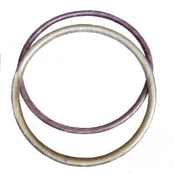 Обруч гимнастичческий стальной утяж. Комфорт 900мм (Толщина 50 мм)