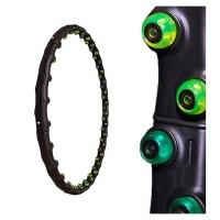 """Обруч массажный """"Hoop Double Grace Magnetic"""" (с магн. вставками) Вес=1,35 кг, d=102 см 07314"""