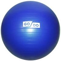 "Мяч д/фитнеса 65 см (цв. ассорти) ""Anti-burst"" в коробке GO-DO"