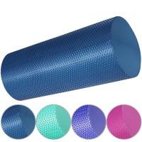 Валик для йоги полумягкий Профи 30x15cm (цв. асс.) (ЭВА) 33083