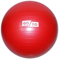 "Мяч д/фитнеса 85 см (цв. ассорти) ""Anti-burst"" в коробке GO-DO"