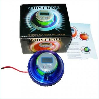 Тренажер-мяч кистевой светящийся WRIST BALL с дисплеем