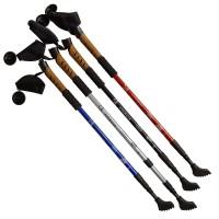 Палки для скандинавской ходьбы телескоп. 80-135 см BW-07