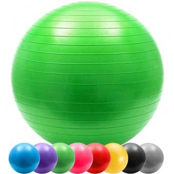 "Мяч д/фитнеса 75 см""Anti-burst"" в пакете 803"