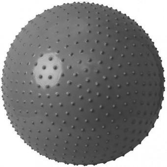 Мяч д/фитнеса 85 см массааж 1200 гр в пакте,