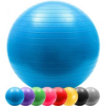 "Мяч д/фитнеса 65 см ""Anti-burst"" в пакете 803"