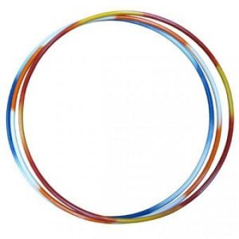 Обруч гимнастический стальной утяж 1,1кг 900мм (труба 20мм) (ту)