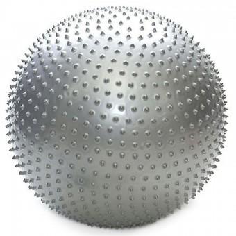 Мяч д/фитнеса 55 см массаж 800 гр в пакете