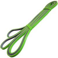 Эспандер-Резиновая петля-6,4mm (серо-зеленая) сопр: 1-10кг) MRB200-6.4 ДВУХ.ЦВ.