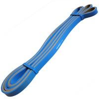 Эспандер-Резиновая петля-10mm (серо-синяя) Сопротивл 2-15кг) MRB200- 10 ДВУХ.ЦВЕТ