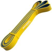 Эспандер-Резиновая петля-20mm (серо-желтая) сопротивл: 5-22кг) MRB200- 20 ДВУХ.ЦВ