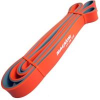 Эспандер-Резиновая петля-28mm (серо-оранж) Сопротивл: 11-36кг) MRB200- 28 ДВУХ. ЦВ