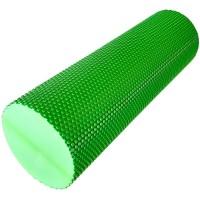 Валик для йоги полумягкий Премиум 45x15cm (зеленый) (ЭВА) EVR125-45B