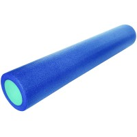 Валик для йоги полнотелый 2-х цветный (фиолетово/розовый) 150х910мм., ПЭ PEF100-91