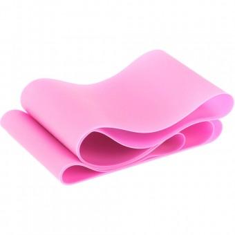 Эспандер ТПЕ лента для аэробики 200 см х 15 см х 0,45 мм. (розовый) MTPR-200-45