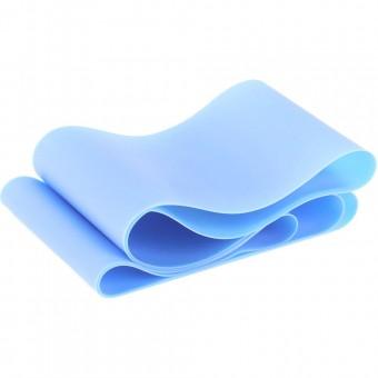 Эспандер ТПЕ лента для аэробики 200 см х 15 см х 0,55 мм. (синий) MTPR-200-55