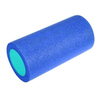 Валик для йоги полнотелый 2-х цветный 30х15см. B31510