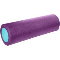 Валик для йоги полнотелый 2-х цветный 45х15см. B31511