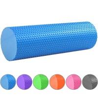 Валик массажный для йоги 45х15см. B31601