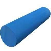 Валик-цилиндр для пилатес гладкий 45х15см.31611