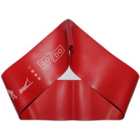 Эспандер-петля GO DO WIDE. Цвет: красный. Длина в сложенном виде 30,5 см. Ширина 7,5 см. Толщина 0,9 мм. 6075-0.9