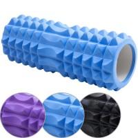 Валик для йоги (цв. асс) 33х15см ЭВА/АБС 33111-33113