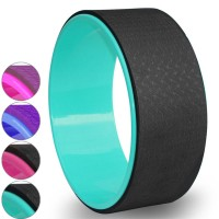 Колесо для йоги 33х13см 6мм (цв. ассорти) (D34420-23) FWH-201-204