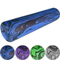 Валик для йоги 60x15cm (ЭВА) (цв. ассорти. гранит) A25581-84