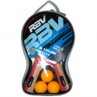 Набор п/п RBV(2 ракетки+3шарика в сумке) 1001Н