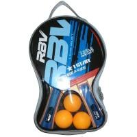 Набор п/п RBV(2 ракетки+3шарика в сумке) 0001Н