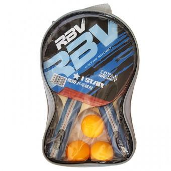 Набор п/п RBV(2 ракетки+3шарика в сумке) 1002Н