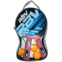 Набор п/п RBV(2 ракетки+3шарика в сумке) 0003Н