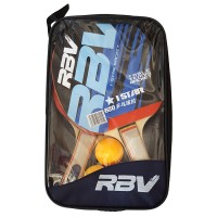 Набор п/п RBV(2 ракетки+3шарика в сумке) 0002Н