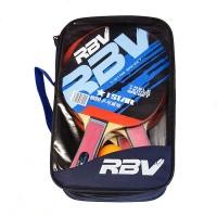 Набор п/п RBV(4 ракетки+3шарика+сетка в сумке) 0003Н (ЧЕТЫРЕ)