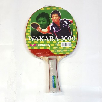 Ракетка п/п Butterfly WAKABA Мастер IZ601