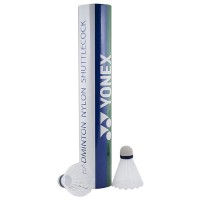 Волан набор Yonex GR-101S Nylon Shuttlecock. Предназначены для любительской игры. Комплектность 12 штук/картонная туба. Материал: нейлон.