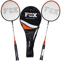 """Набор бадминтона (2 ракетки + чехол) """"Fox"""" 8000"""