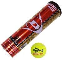 """Мяч б/т """"Dunlop GRAND PRIX"""" (4 шт в тубе)"""