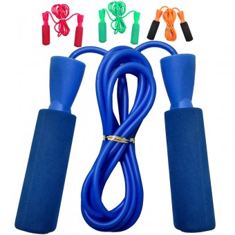 Скакалка с подшипником (ручки пластиковые, шнур ПВХ) 23650