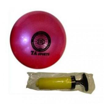 Мяч д/худ.гимнастики D-20см TA-SPORT + насос