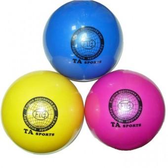 Мяч д/худ. гимнастики 15 см (цвет ассорти с глиттером)