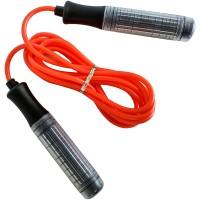 Скакалка ручки пластиковые, шнур ПВХ 23649