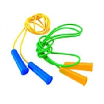 Скакалка цветная 1,8 (пластизоль) 10шт/уп