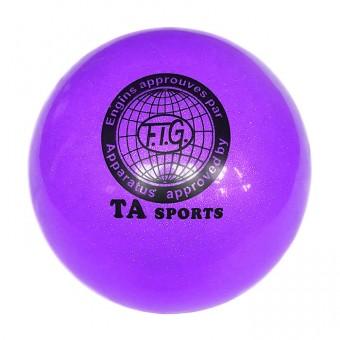 Мяч д/худ. гимнастики 19 см TA sport силикон