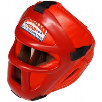 Шлем Кобра с закр маской (кожа) БН 238