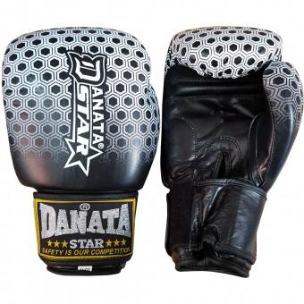 Перчатки бокс Danata Супер Файтер TIGER 14 унц (кожа)