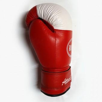 "Перчатки бокс""Attack"" кожа(8;10;12;14ун)"